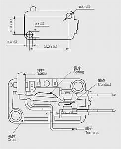 Micro Switch V-15-1c25