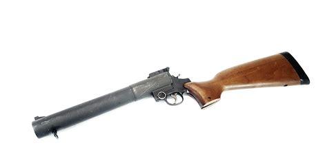 smith  wesson sw mm smooth barrel gas gun single shot  nfa rules apply