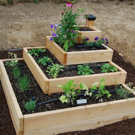 raised herb garden design photograph tiered this ph