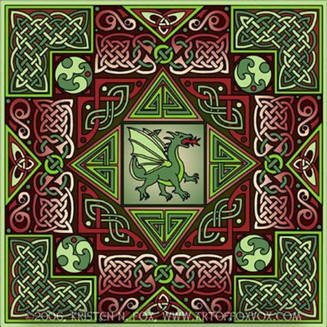 Celtic Dragon Art