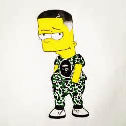 BAPE Cartoons Bart Simpson