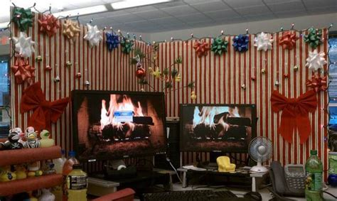100 country christmas cubicle decorating ideas