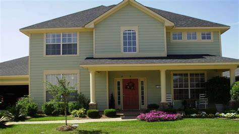 exterior paint color combinations home design