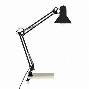 Lampe De Bureau Noire : lampe de bureau noire clipser ~ Teatrodelosmanantiales.com Idées de Décoration