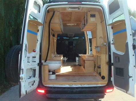 The camper van is available to buy at mercedes dealerships. Shower/toilet vs simple footstool toilet - Sprinter-Forum | Diy van conversions, Sprinter ...