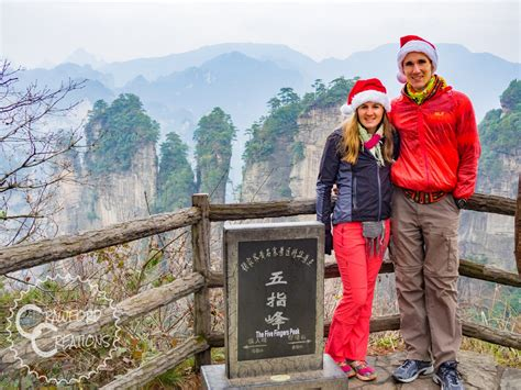 zhangjiajie photo  hiking  avatar mountains  wulingyuan scenic area crawford creations