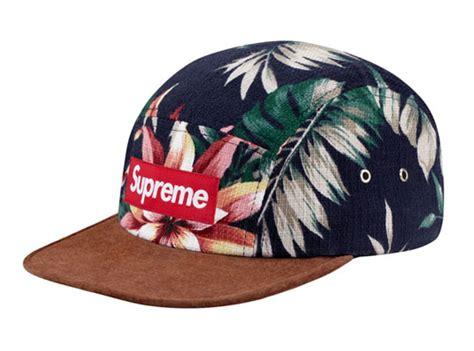 supreme cap supreme floral suede c caps highsnobiety