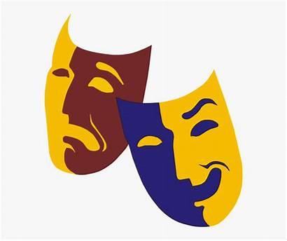 Drama Faces Clipart Transparent Kindpng Masks Clipground