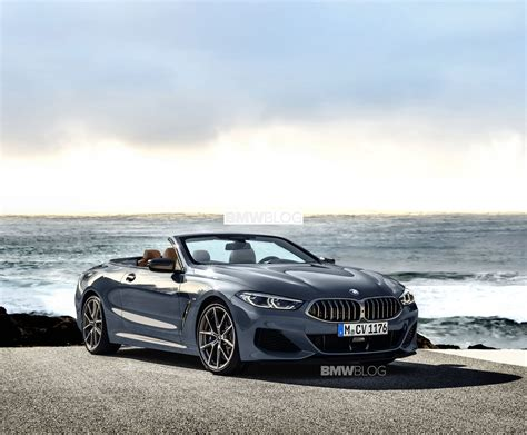 bmw 8 series convertible accurately rendered
