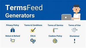 Generator of privacy policy terms conditions disclaimer eula termsfeed for Termsfeed