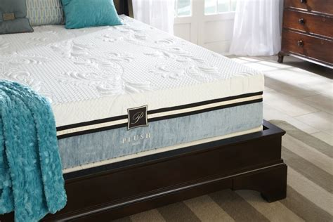Plush Beds by Plushbeds Pacific 10 Quot Gel Memory Foam Mattress