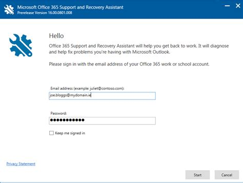 Office 365 Outlook Troubleshooting Tool by Microsoft Office 365 Support And Recovery Assistant