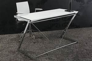 Design Schreibtisch Weiß : design schreibtisch zoom hochglanz weiss 125cm dunord shop ~ Frokenaadalensverden.com Haus und Dekorationen