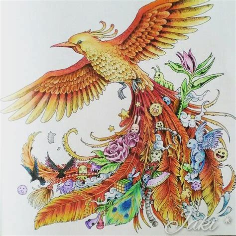 animorphia coloring book completed pages