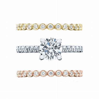 Engagement Ring Band Metals Combos Bands Multiple
