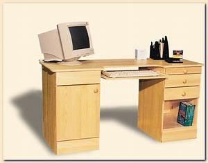 Pc Tisch Holz : computertisch schreibtisch pc tisch computertisch eckschreibtisch schreibtisch holz ~ Markanthonyermac.com Haus und Dekorationen