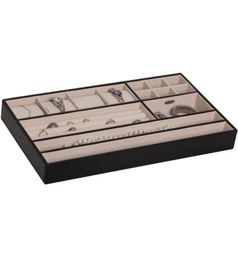 jewelry drawer organizer jewelry organizer tray faux leather in jewelry trays