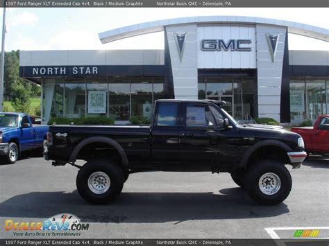 1997 ford ranger xlt extended cab 4x4 black medium graphite photo 1 dealerrevs