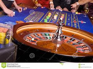 People Playing Roulette In Casino Royalty Free Stock ...