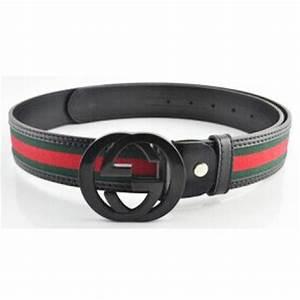 Gucci Greenredgreen Black Buckle Belt - Fashion - Nigeria