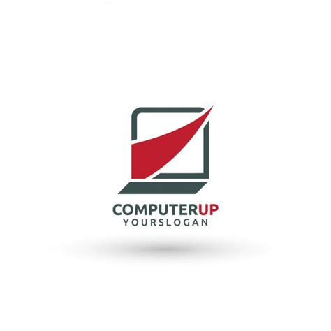 computer psd templates download computer logo template vector free download