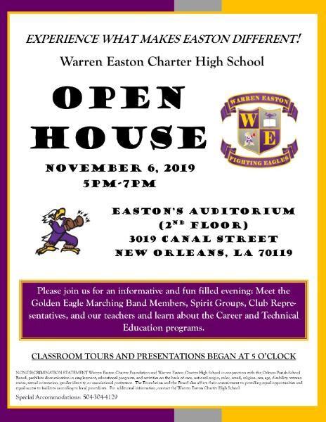 open house prospective students main calendar warren
