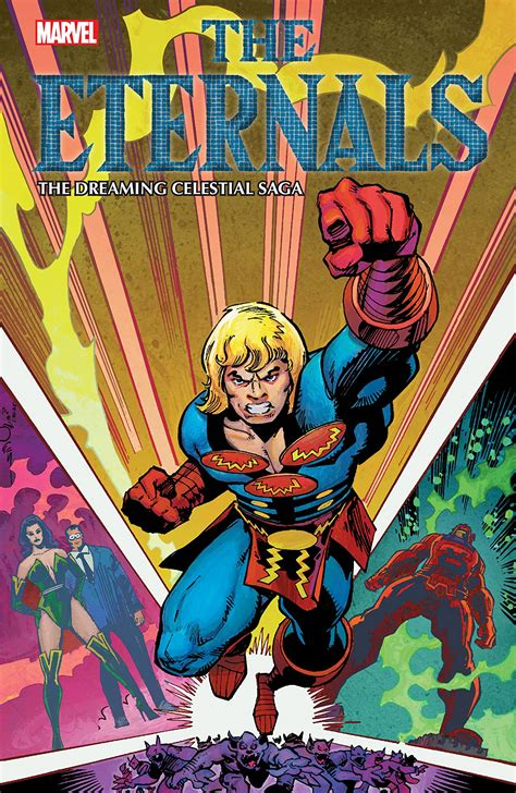ETERNALS: THE DREAMING CELESTIAL SAGA TPB (Trade Paperback ...