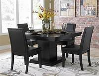 black dining room table Dining Room Table and Chairs Ideas with Images