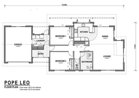 Bathroom Floor Plans Nz by Pope Homes Plans House Designs