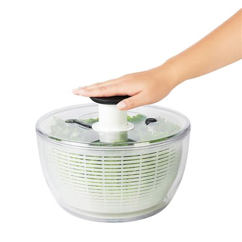 oxo kitchen accessories oxo grips salad spinner the container 1357