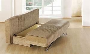 Fantasy benja sleeper sofa in light brown microfiber by sunset for Light brown microfiber sectional sofa