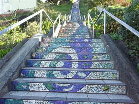 16th avenue tiled steps san francisco address 16th avenue tiled steps san francisco ca california