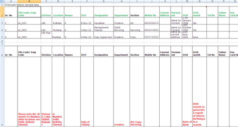 Employee Performance Tracking Template by The Rise And Fall Of Spreadsheets In Hr Management Hr