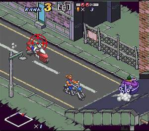 Biker Mice from Mars (1994) by Genki SNES game