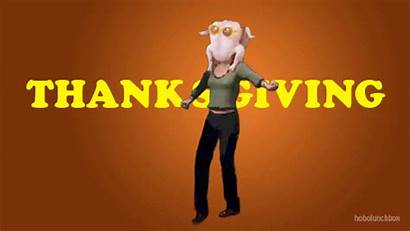 Thanksgiving Gifs Funny Dancing Turkey Friends Giphy