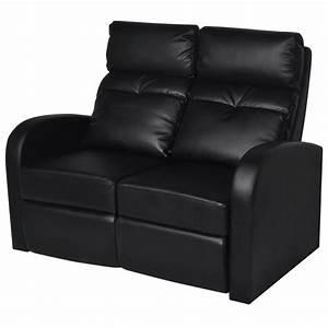 Kunstleder Sofa 2 Sitzer : der kunstleder heimkino sessel relaxsessel 2 sitzer sofa schwarz online shop ~ Bigdaddyawards.com Haus und Dekorationen