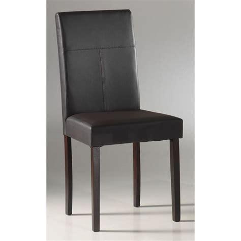 chaise salle a manger cuir trouver chaise de salle a manger en cuir pas cher