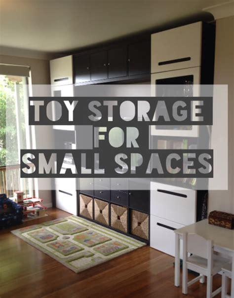 toy storage  small spaces ikea besta kallax