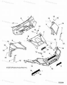 Polaris Side By Side 2017 Oem Parts Diagram For Body  Hood