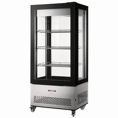 Display Refrigerated Case Commercial Showcase Capacity 350l
