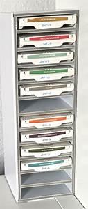 Ikea Regal Aufbewahrung : mini regal f r stempelkissen von stampin up aus foamboard passend f r ikea kallax regal ~ Sanjose-hotels-ca.com Haus und Dekorationen