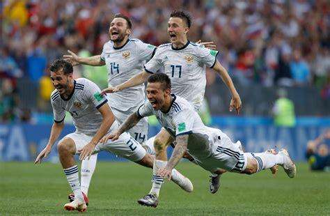 Fifa World Cup Croatia Russia Beat Denmark Spain