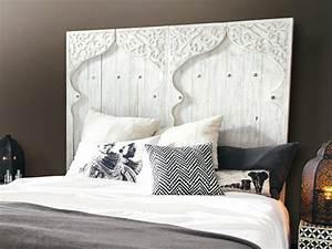 Tete De Lit Bois Sculpté : relookez votre chambre avec une t te de lit originale le blog d co de maisons du monde ~ Teatrodelosmanantiales.com Idées de Décoration