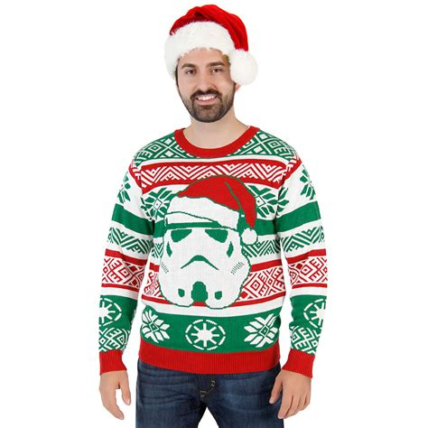 stormtrooper sweater wars santa stormtrooper sweater