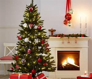 Weihnachtsbaum Rot Weiß : 4 led weihnachtsbaum kugeln online bestellen bei tchibo 297520 ~ Yasmunasinghe.com Haus und Dekorationen