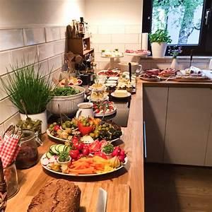 Party Buffet Ideen : partybuffet inspiration abendbrot f r die einweihungsparty dreierlei liebelei ~ Markanthonyermac.com Haus und Dekorationen