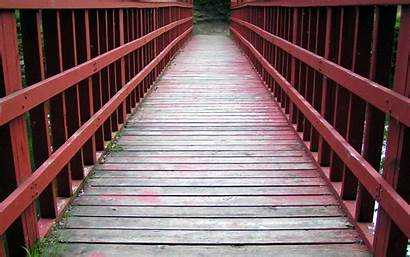 Wallpapers Bridge Unique Backgrounds Wooden Nature Awesome