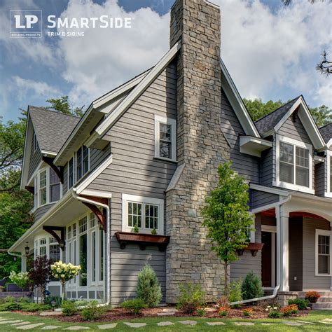 Lp Smartside Trim, Soffit And Lap Siding Complement The