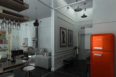 three distinctly themed flats underneath 800 sq ft