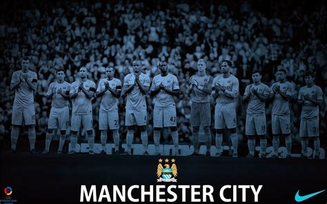 Manchester city football club is an english football club based in manchester that competes in the premier league, the top flight of english football. Manchester City Football Club Wallpaper - Football ...
